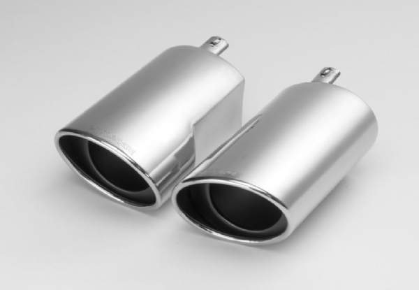 Range Rover Sport Supercharged 'HAWKE' Tail Pipe Trims - Stainless